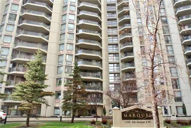 506 1108 6 Avenue SW in Downtown West End Calgary